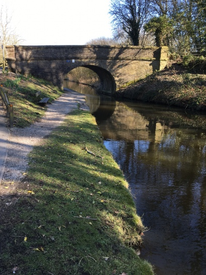 Bridge at Disley on the Peak Forest Canal