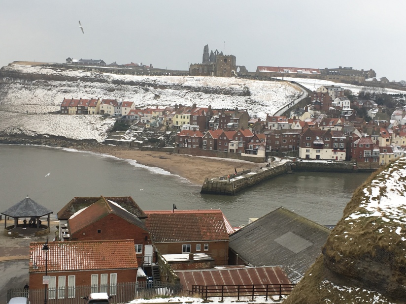 Whitby harbour entrance