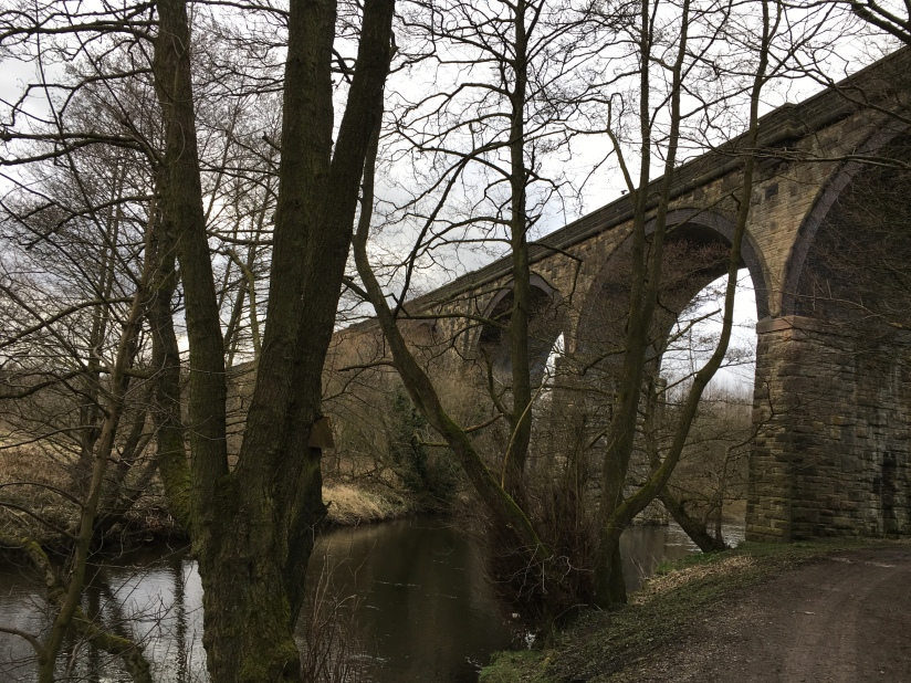 Railway bridge over River Goyt