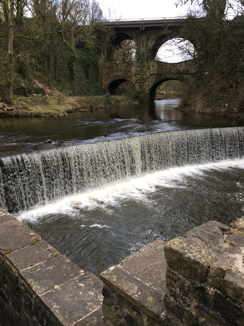 Double Arch Viaduct and Torr Mill Weir